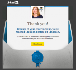 Learn how over 1MM publishers are driving new business each day on LinkedIn!