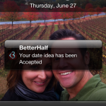 Get your date accepted via BetterHalf