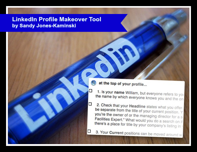 A sneak peek at the LinkedIn Profile Makeover tool